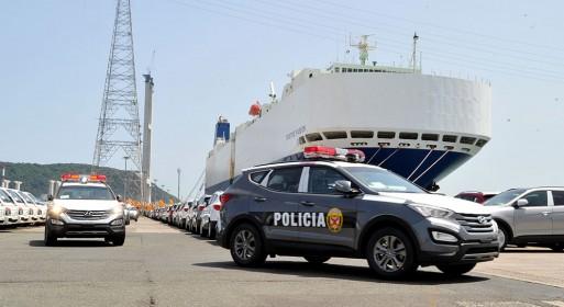 Hyundai Santafe police