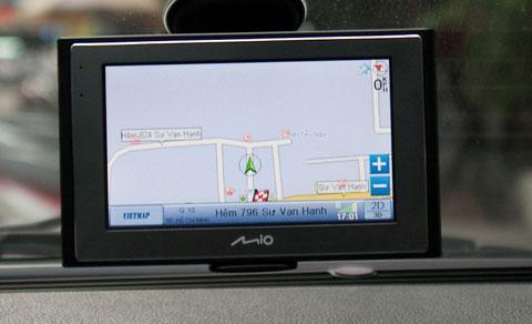 Màn hình định vị GPS
