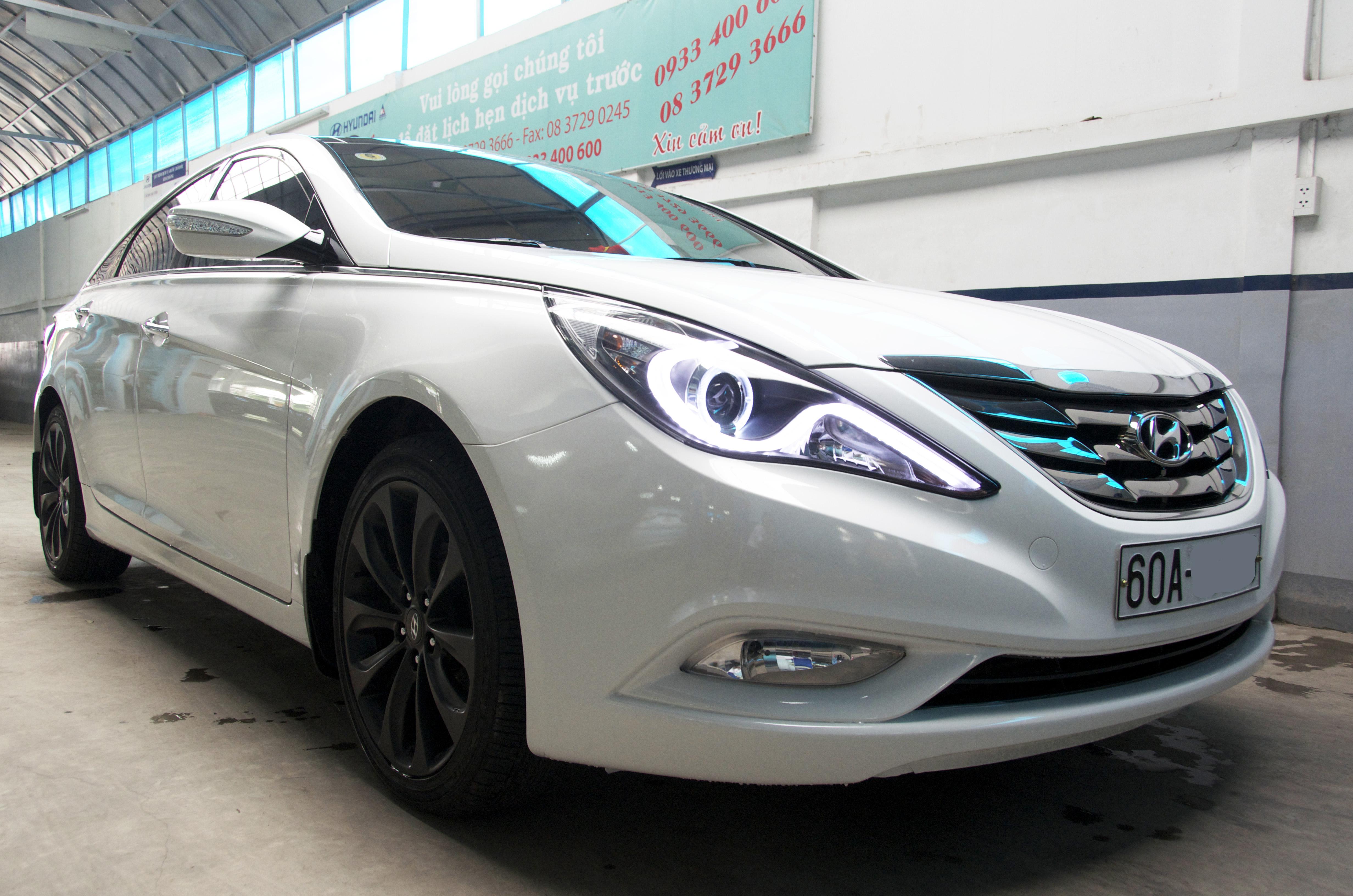 Hyundai Sonata nâng cấp