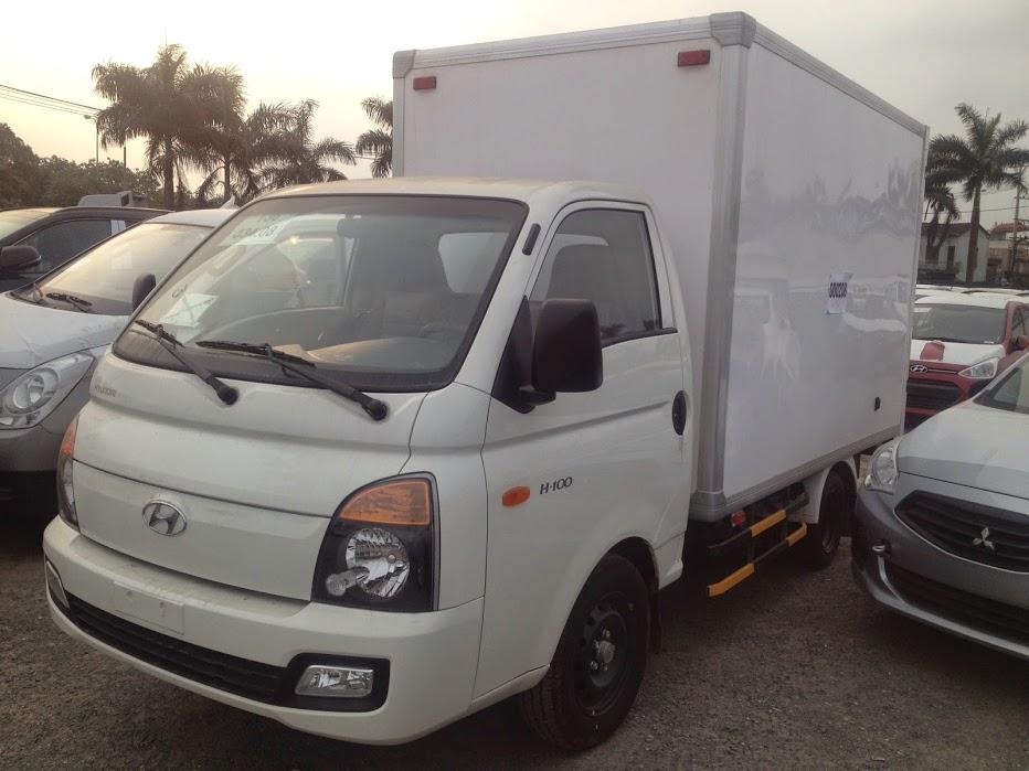 hyundai h100 thùng kín composite