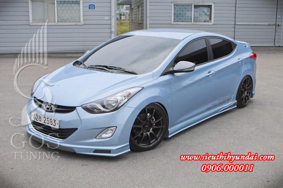 Hyundai elantra 2013 nâng cấp body lip