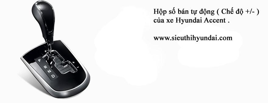 hộp số bán tự động xe hyundai accent