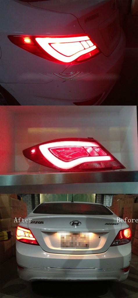 Đèn LED sau Hyundai Accent