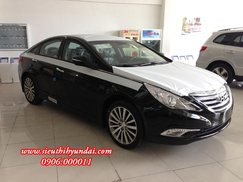 Hình ảnh thực tế Hyundai Sonata 2013